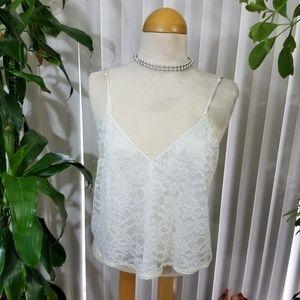 Vintage Victoria Secret Lacey camisole